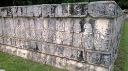 Photo of Cancun Chichen Itza Day Trip from Cancun Skull sacrifice podium