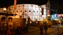 The Shakespeare Globe Theater. - February 2012