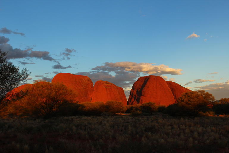 Sunset - Ayers Rock