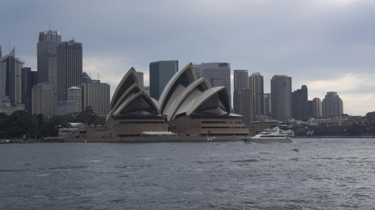 Sydney from the boat - Sydney