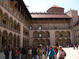 Photo of   The courtyard of Wawel Castle, Krakow
