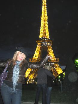 Photo of Paris Eiffel Tower Dinner and Seine River Cruise The Eiffel Tower at Night