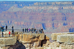 Our small group stopped at the Grand Canyon for an hour and a half. Overwhelming! , John M - November 2013