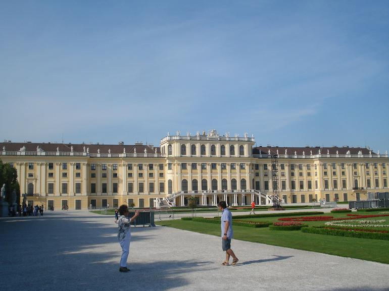 The other side of Schonbrunn Palace - Vienna
