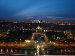 View of Paris from the Eiffel Tower., Alice K - March 2008