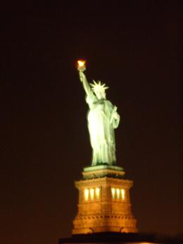 Photo of New York City Circle Line: Harbor Lights Night Cruise What can I say! The Statue fo Liberty!