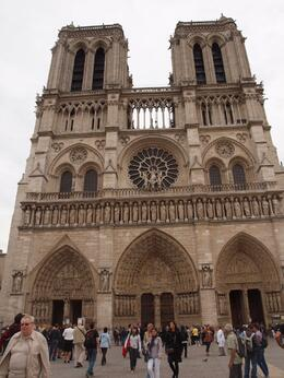 Notre Dame Cathederal, Yvonne M - September 2010