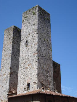 Photo of Florence Tuscany in One Day Sightseeing Tour 2011 towers of san gimignano