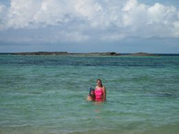 My daughter and her boyfriend snorkeling! Myself, my daughter and my sister-in-law enjoying the water! , chrst2dn - April 2015