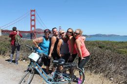 A quick stop before heading up to the Golden Gate Bridge. Our amazing tour guide, Robert, took the time to take many photos for us. , Erin W - August 2015