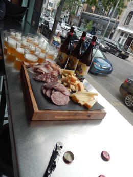 Photo of Montreal Mile End Montreal Food Tour Charcuterie and Cheeses