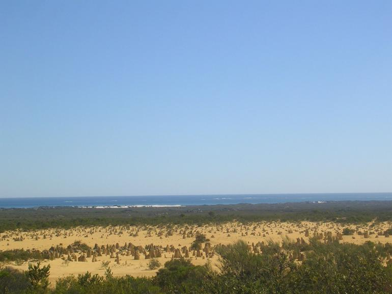 Desert right beside the Indian Ocean - Perth