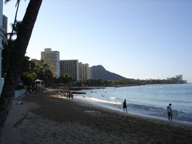 Early Morning, Waikiki Beach - Oahu