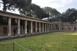 Our tour began in the Gladiator's Barracks. , Antonio T - March 2012
