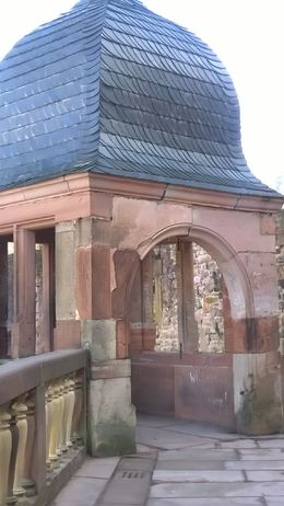 Heidelberg Castle , sg - March 2015