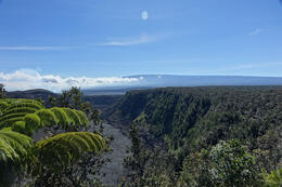 Mauna Loa viewed across Kilauea caldera , Christopher J - August 2014