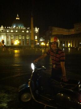 Photo of Rome Rome Vespa Tour: City Highlights by Night My guide
