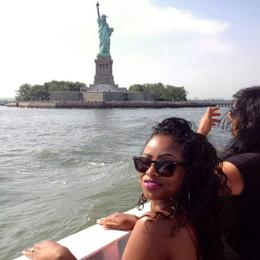 Check out the Statue of Liberty, Emilie C - June 2014