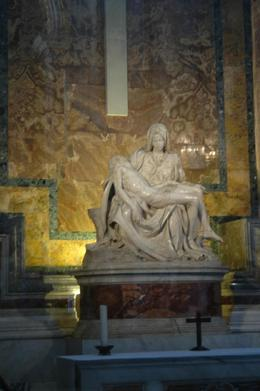 The Pieta done by Michelangelo at the age of 25. Must see!, James H - July 2008