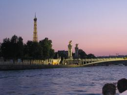 Photo of Paris Eiffel Tower Dinner and Seine River Cruise The Cruise at Night