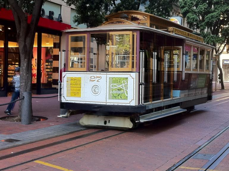 The SF Cable Car - San Francisco