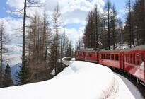 Photo of Milan Swiss Alps Bernina Express Rail Tour from Milan