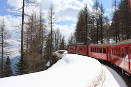 Photo of Milan Swiss Alps Bernina Express Rail Tour from Milan Via Tirano, It - St Moritz, Sw