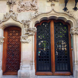 Photo of Barcelona Barcelona Modernism and Gaudi Walking Tour Wrought-Iron Doors on Passeig de Gràcia