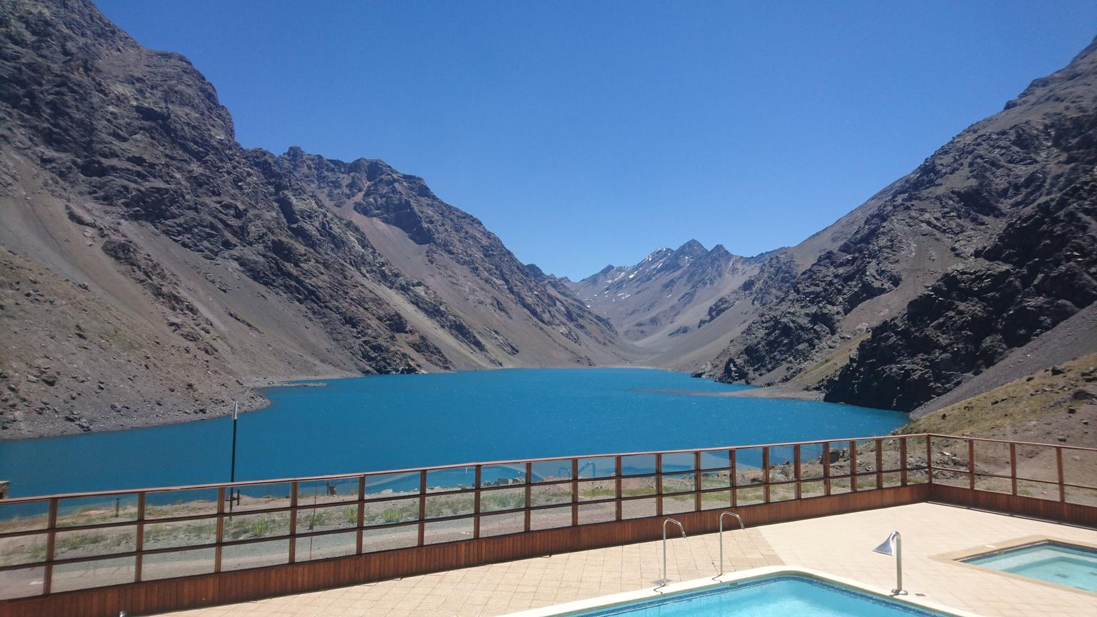 Inca Lagoon in Portillo Andes Mountains and Tasting at San Esteban Vineyard from Santiago