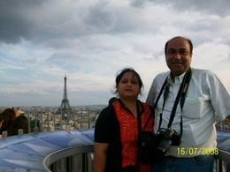 A captivating view of Paris, after climbing 287 steps., Basab D - August 2008