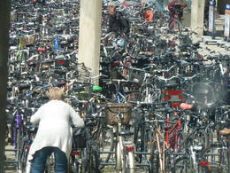 Photo of Copenhagen Copenhagen Panoramic City Tour with Tivoli Gardens Bike parking lot in Copenhagen????