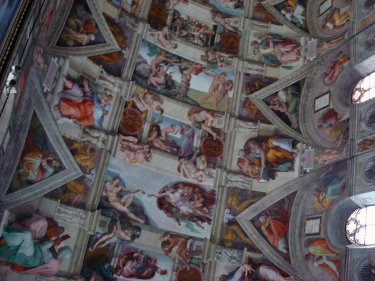 Creation of Adam, Sistine Chapel - Rome