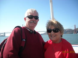 My wife and I , Ronald E S - March 2012