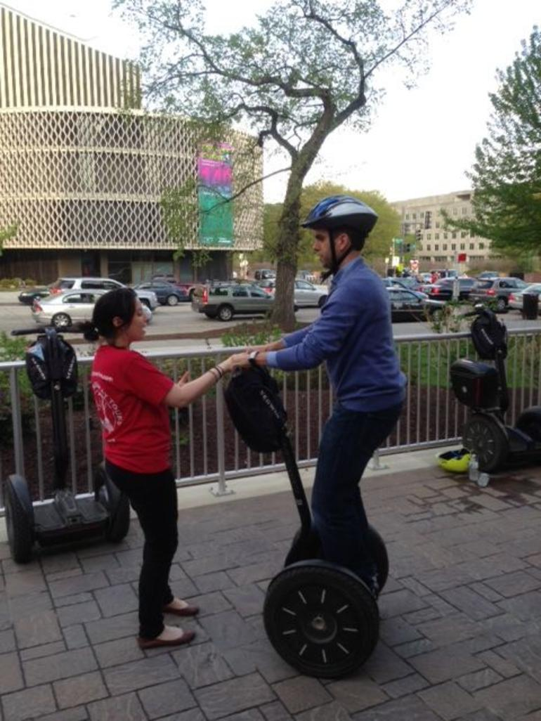Fernando on the Segway - Washington DC