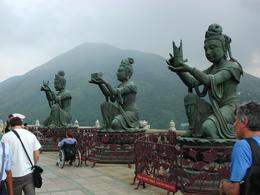 Figures around the Giant Buddha, Mark S - September 2009