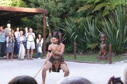 The traditional welcome to the marae., Big Dog - March 2010