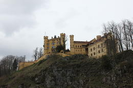 Hohenschwangau Castle where King Ludwig II grew up. , Scott S - April 2012