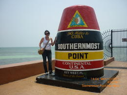 Key West the southernmost point of USA , EVANGELIA K - May 2011