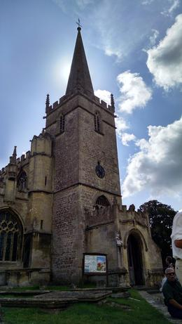 beautiful church in Lacock , Vida V W - August 2014
