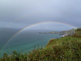 Photo of Dublin Northern Ireland including Giant's Causeway Rail Tour from Dublin Rainbow at Hanging Bridge