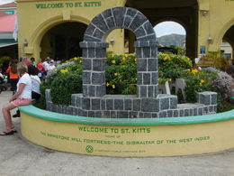 St. Kitts Port and excursion meeting place. , Richard S - May 2016
