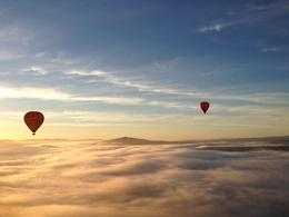 Photo of Melbourne Yarra Valley Balloon Flight at Sunrise Up in the hot air balloon