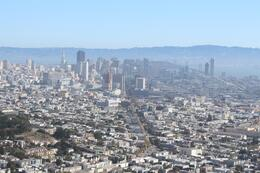 Photo of San Francisco San Francisco Land, Sea, Air and Alcatraz Adventure View from Twin Peaks Summit