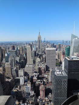 Photo of New York City Top of the Rock Observation Deck, New York Vue sur l'Empire state