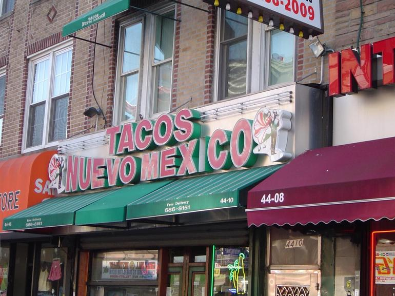 An ethnic eatery in Sunset Park Brooklyn's Latin District - New York City