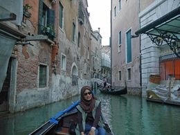My wife was enjoying gondola ride , iman p - August 2015