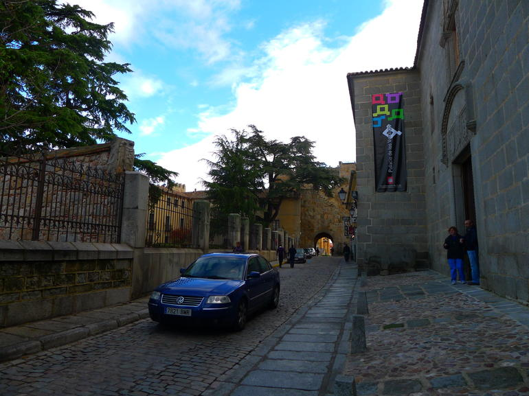 exploring Avila - Madrid
