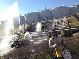 Photo of St Petersburg Peterhof Grand Palace and Gardens Tour with Neva Boat Ride Fountain