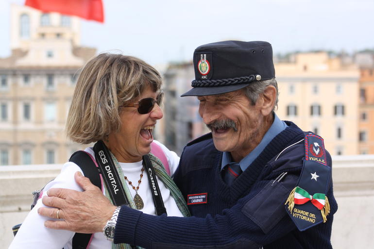 Friendly People in Rome, Italy -