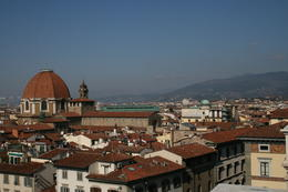 Photo of Florence Pisa and the Leaning Tower Half-Day Trip from Florence Overlooking Florence